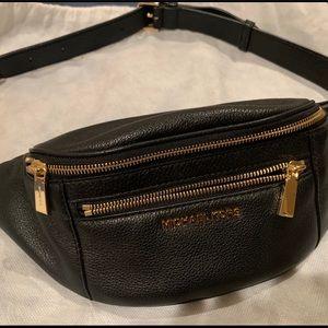 Medium Pebbled Leather Belt Bag